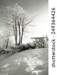 snowy forest  ski slope | Shutterstock . vector #249364426