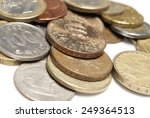 coins  money  | Shutterstock . vector #249364513