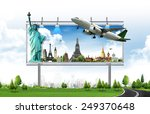 billboard  travel concept | Shutterstock . vector #249370648