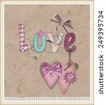 "scrapbook design ""love"" 