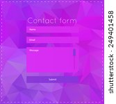simple violet contact us form...