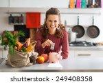 portrait of happy young...   Shutterstock . vector #249408358