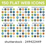 web icons | Shutterstock .eps vector #249422449