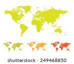 world map vector illustration... | Shutterstock .eps vector #249468850