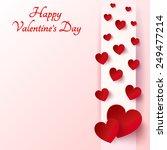 happy valentines day. 14... | Shutterstock .eps vector #249477214