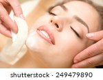 health spa  close up of a...   Shutterstock . vector #249479890