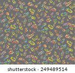 seamless pattern of colorful...   Shutterstock .eps vector #249489514