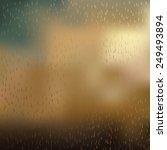 Rainy Sky Background Eps 10...