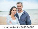 portrait of a handsome couple... | Shutterstock . vector #249506506