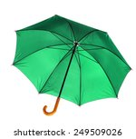 umbrella isolated against white ... | Shutterstock . vector #249509026