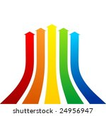 arrows vector | Shutterstock .eps vector #24956947