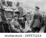 German soldiers observing No Man