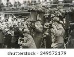 news photographers in berlin ... | Shutterstock . vector #249572179