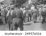 spectators at public farm... | Shutterstock . vector #249576316