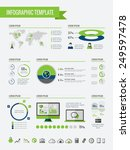 technology infographic elements | Shutterstock .eps vector #249597478