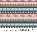 abstract vector decorative... | Shutterstock .eps vector #249613618