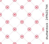 vector seamless pattern with...   Shutterstock .eps vector #249631744