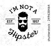 black and white vintage label... | Shutterstock .eps vector #249638464
