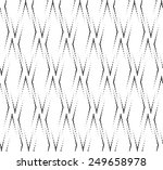black and white geometric... | Shutterstock .eps vector #249658978