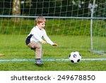 adorable cute little kid boy...   Shutterstock . vector #249678850