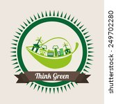 ecology concept  design  vector ... | Shutterstock .eps vector #249702280