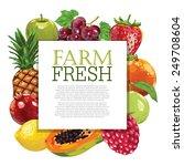 fruits | Shutterstock .eps vector #249708604