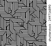 seamless geometric pattern.... | Shutterstock . vector #249716890