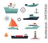 Ships Range. Includes Boat ...