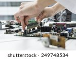 developers who are assembling a ... | Shutterstock . vector #249748534