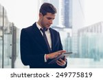 portrait of businessman | Shutterstock . vector #249775819