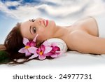 attractive woman getting spa...   Shutterstock . vector #24977731