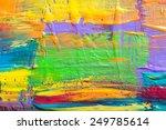 abstract art background. hand... | Shutterstock . vector #249785614