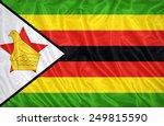 zimbabwe flag pattern on the...   Shutterstock . vector #249815590