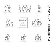Family Hand Drawn Icons In...