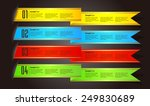 colorful modern text box... | Shutterstock .eps vector #249830689