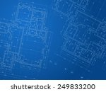 architectural background.... | Shutterstock .eps vector #249833200