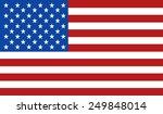 american flag | Shutterstock .eps vector #249848014