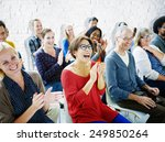 Ethnicity Audience Crowd...