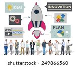 new business innovation... | Shutterstock . vector #249866560