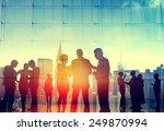 business people corporate... | Shutterstock . vector #249870994