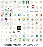logo mega collection  abstract... | Shutterstock .eps vector #249899914