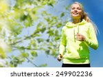 fitness  people and healthy...   Shutterstock . vector #249902236