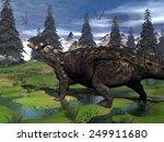 Euoplocephalus Dinosaur Walkin...