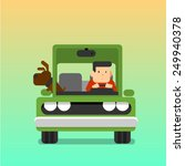 driver. | Shutterstock .eps vector #249940378