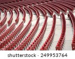 Empty Auditorium With Red...