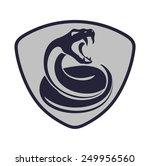 snake shield | Shutterstock .eps vector #249956560