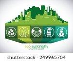 eco sustainibility design ...   Shutterstock .eps vector #249965704