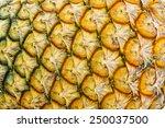 Texture Of Pineapple Skin