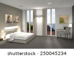 fictitious 3d rendering of a... | Shutterstock . vector #250045234
