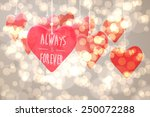 always and forever against... | Shutterstock . vector #250072288